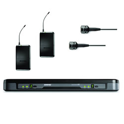 Shure PG188/PG185 Performance Gear Dual Lavalier Wireless System