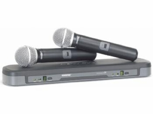 Shure PG288/PG58 Dual Vocal Wireless System