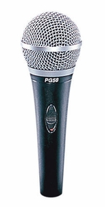 Shure PG58-QTR / PG58-XLR Vocal Microphone 60Hz To 15kHz