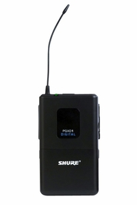 Shure PGXD1 Digital Wireless Bodypack Transmitter