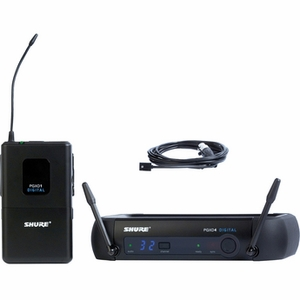 Shure PGXD14/93 Digital Wireless System with WL93 Lavalier Mic