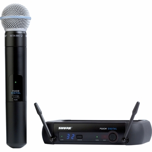 Shure PGXD24/BETA58 Wireless Digital System w/BETA58A Microphone