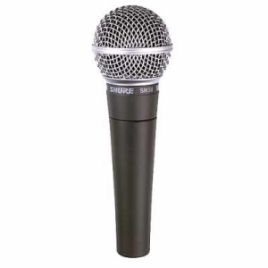 Shure SM58 LC Vocal Microphone 50Hz To15kHz