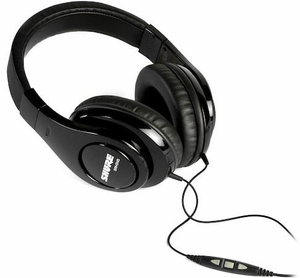 Shure SRH240m+ Professional Quality Headphones w/ Mic+Remote