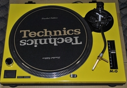 Technics Faceplate/Cover For Technics Turntable SL-1200/SL1210M5G YELLOW