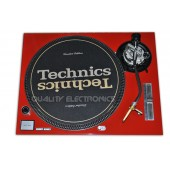 Technics Faceplate/Cover For Technics Turntable SL1200MK5 SL1210MK5 and SL1200M3D RED