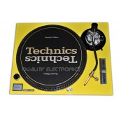 Technics Faceplate/Cover For Technics Turntable SL1200MK5 SL1210MK5 and SL1200M3D YELLOW