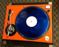 Technics SL1200MKII Face Plate Orange