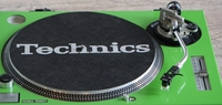 Technics Turntable face plate for SL1200 Series in Green