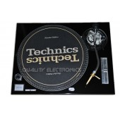 Turntable Faceplate/Cover For Technics Turntable SL-1200 / 1210 MK2 BLACK