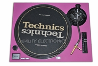 Turntable Faceplate/Cover For Technics Turntable SL-1200 / 1210 MK2 PINK