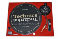 Turntable Faceplate/Cover For Technics Turntable SL-1200 / 1210 MK2 RED