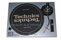 Turntable Faceplate/Cover For Technics Turntable SL-1200 / 1210 MK2 SILVER