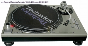 Turntable And Electronics Repair Service And Rental