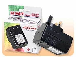 Voltage Converter - 50 Watts