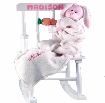 Baby's First Rocking Chair Personalized Baby Girl Gift - SOLD OUT