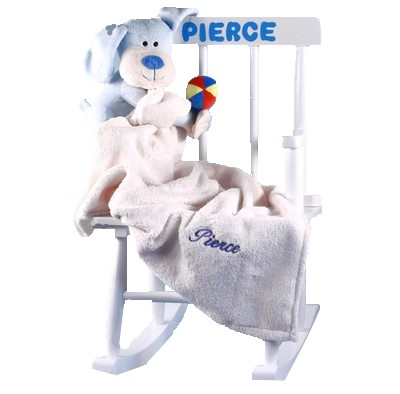 Baby S First Rocking Chair Personalized Baby Boy Gift Sold Out