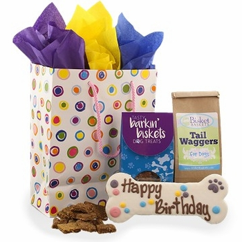 Birthday Wishes Doggy Bag