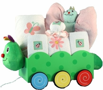 Caterpillar Wagon Gift Set