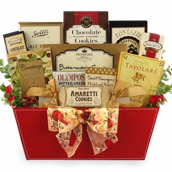 Corporate Holiday Splendor Gift Basket