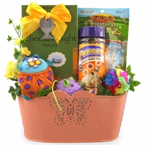 Crazy Cat Gift Basket - SOLD OUT!
