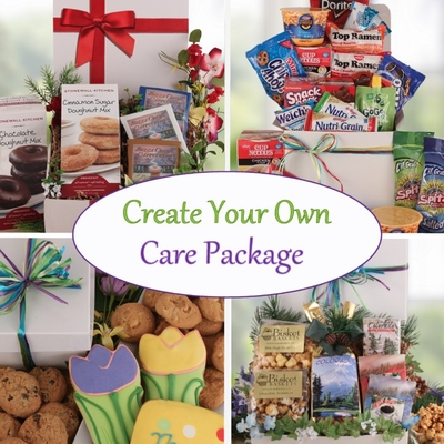 Create your own care package for Build your own home packages