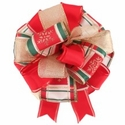 Custom Holiday Bow $9.99 (each unique)