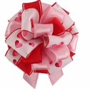 Custom Valentine Bow $9.99 (each unique)