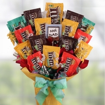 Father's Day M&M's Candy Bouquet