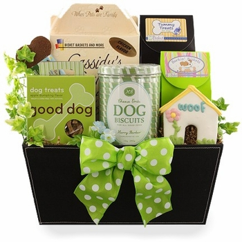 Leader of the Pack Dog Gift Basket