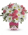 Polka Dots and Posies Floral Bouquet