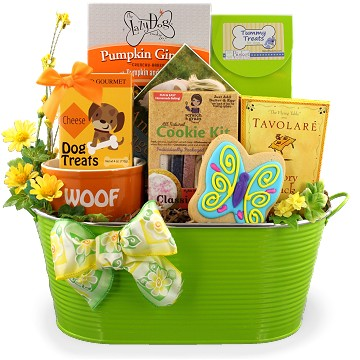 Dog, Cat, and Pet Lover Gift Baskets - from Bisket Baskets and More