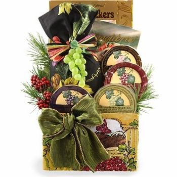 The Holiday Vineyard Wine Themed Gift