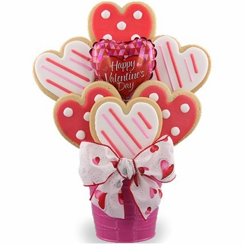 Hearts Cookie Bouquet-SOLD OUT