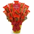 Valentine Reeses Candy Bouquet