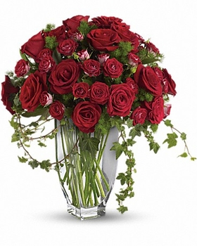 Valentine Rose Romanesque Bouquet