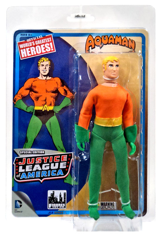 Best Justice League Toys And Action Figures For Kids : Aquaman action figure world s greatest heroes inch dc