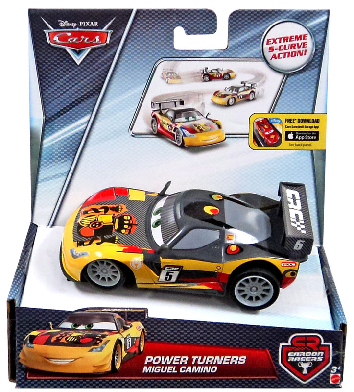 Disney Cars Carbon Racers Miguel Camino Power Turners Car