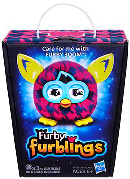 Furby Furblings Purple Houndstooth Figure on sale at ...