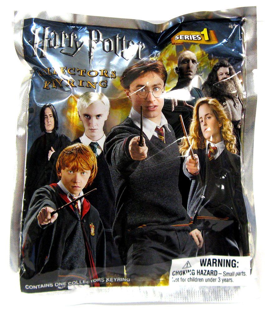 Harry Potter Book Keychain ~ D figural keychain harry potter series mini figure