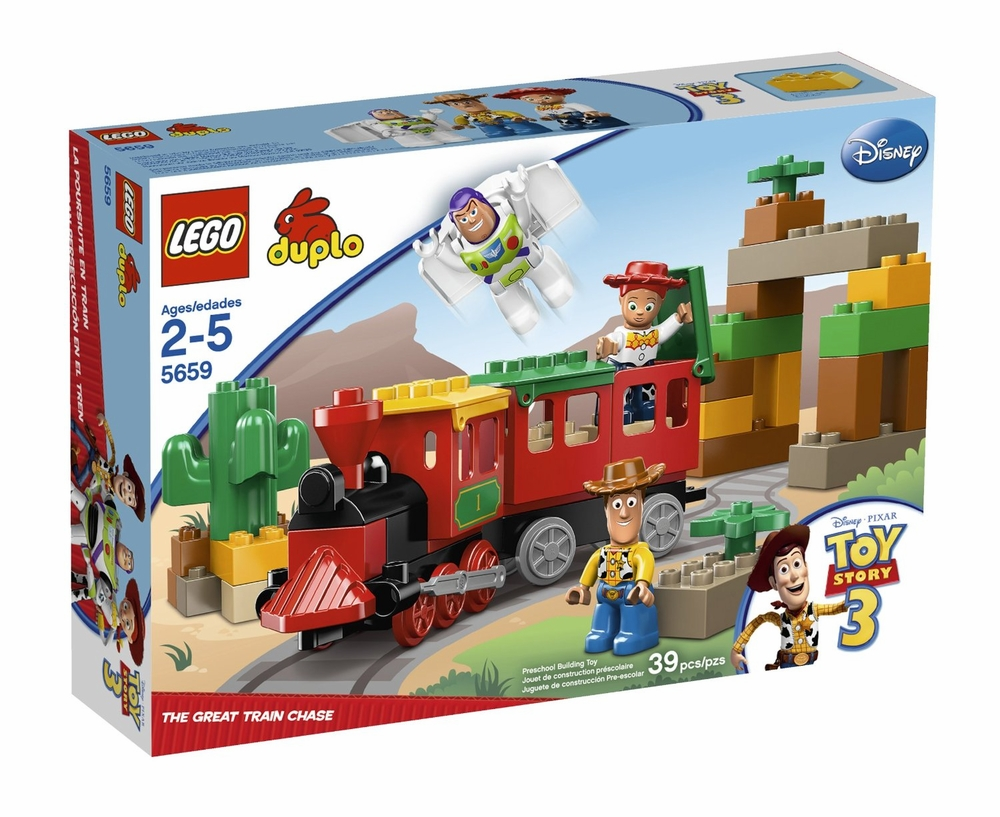 New Toy Story 3 Train : Lego duplo toy story great train chase set on sale