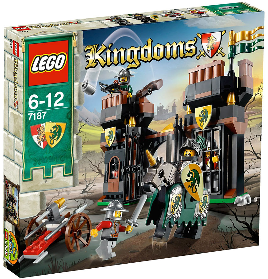 Lego kingdoms escape from dragon 39 s prison set 7187 on sale at - Lego chevaliers ...