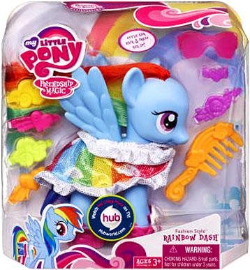My Little Pony Friendship Is Magic Fashion Style Rainbow
