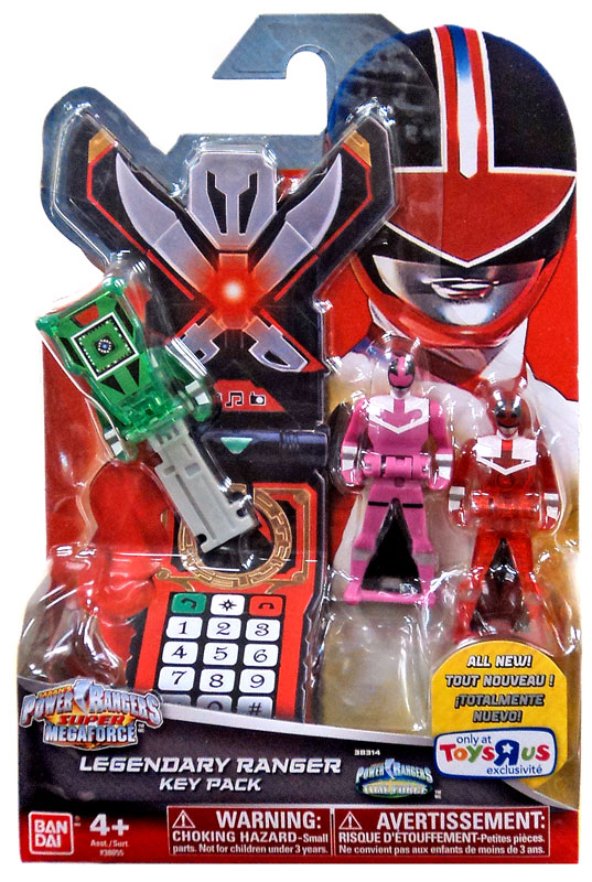 Legendary ranger key pack jungle fury power rangers super - Power rangers megaforce jungle fury ...