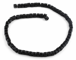 6X6mm Black Square Faceted Crystal Beads