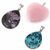 Gem Stone Pendants