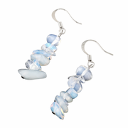 Opalite Chips Dangle Earrings