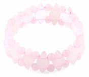 Princess Style Princess Rose Quartz Gemstone Bracelet