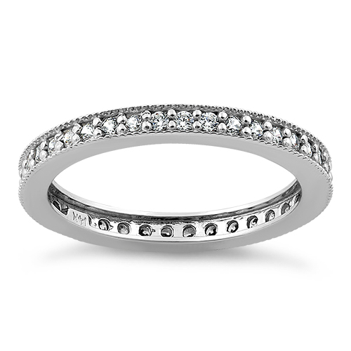 silver toni bands eternity cut product ring rhodium cz sterling bijoux asscher band