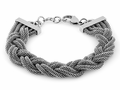 Stainless Steel Thick Braided Mesh Bracelet